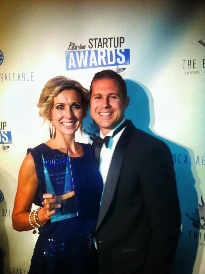With Wade at the Australian Startup Awards in 2013