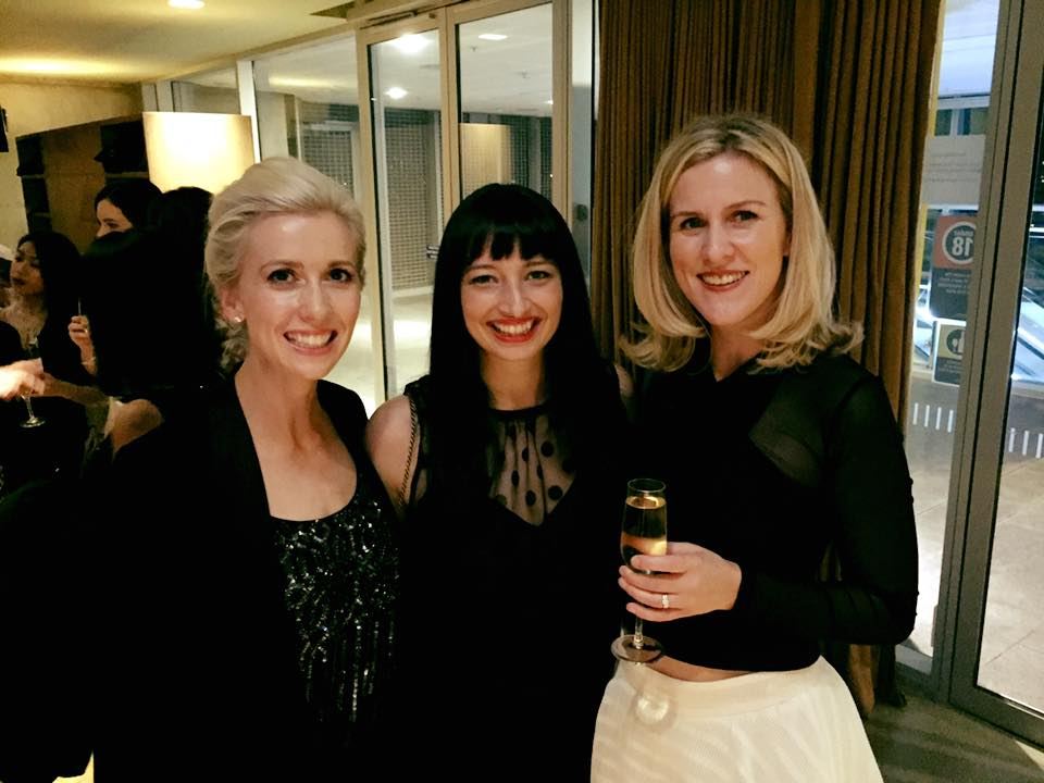 With Richenda & Meredith at the Women in Media Awards 2015
