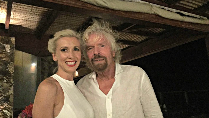 The biggest thing I learned from Richard Branson